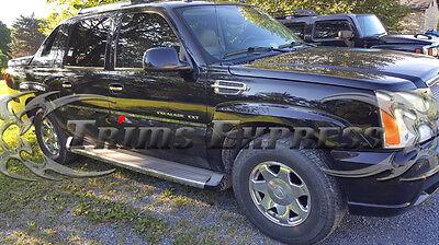 "2001-2006 Cadillac Escalade EXT Pickup Chrome Accent Body Side Molding Trim 1"""