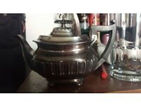 Walker and Hall silver plate Tea pot