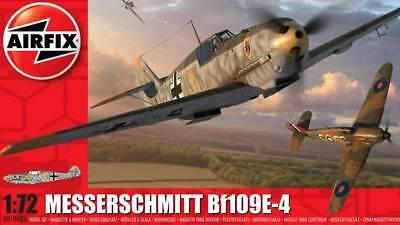 Airfix Messerschmitt Me Bf-109E-4 JG-54 Anton Schön 1940 Modell-Bausatz 1:72