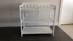 White changing table from sears
