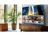 "49"" Samsung smart 4K quantum dot tv new"