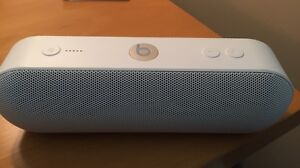 Beats Pill Bluetooth speaker great sound.