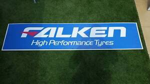 Large Falken Tire Banner/Sign Epping Whittlesea Area Preview