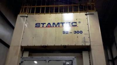 330 Ton Stamtec S2-300 Straight Side Double Crank Press