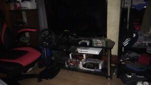 Xbox gaming set up