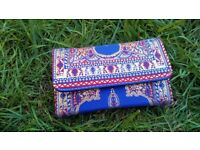 Beautiful, Traditional Turkish Woven Wallet/Purse with a Clutch