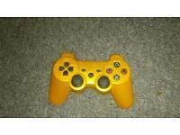 Orange ps3 controller Bluetooth