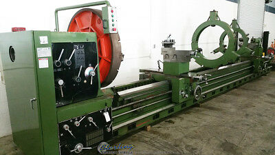 59 - 78 X 354 Used Annn Yang Geared Head Gap Bed Lathe Dy-1500x9000g A3649