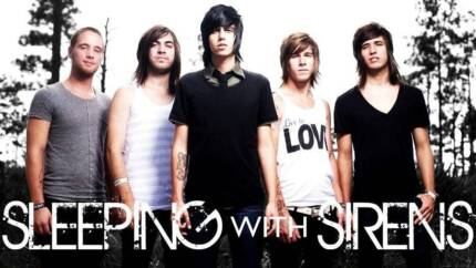 SLEEPING WITH SIRENS in Melbourne!  UNDER-18's 2:00 P.M. show! Brunswick Moreland Area Preview