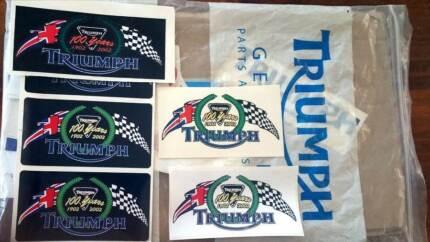 Centennial anniversary badge 100 years + Triumph tank badges