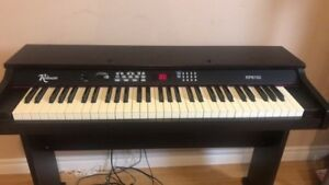 Black robson electric piano