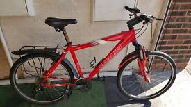 Specialized Hardrock Sport Mountain Bike. 24 speed. 26 inch wheels (Suit: 16 yrs to Adult).