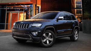 new cross bar roof racks for Jeep Grand Cherokee 2010 - 2016 black