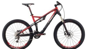 Specialized stunt jumper evo fsr comp enduro bike