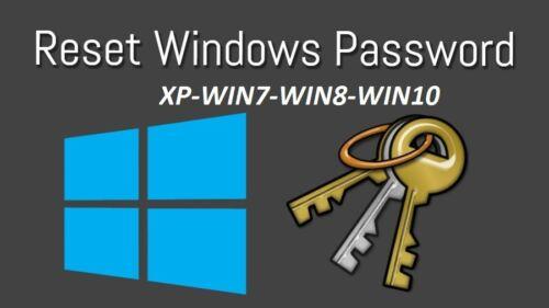 2020 Reset  Forgotten Windows 10 / 8 / 7 Password Advanced_Edition