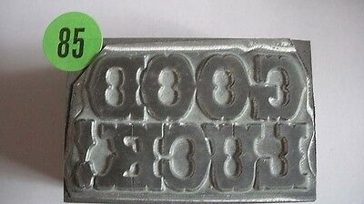 Kwikprint Good Luck Hot Foil Stamping Printing Embossing Cast Die
