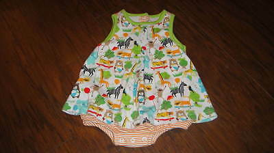 Zoo Animal Outfits (ZUTANO 0-6 ZOO ANIMAL PRINT DRESS)