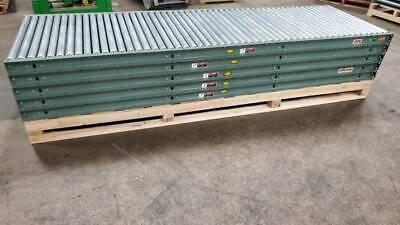36 Hytrol Gravity Roller Conveyor X 50 1.9 Rollers 2.25 Centers