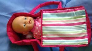 baby born dolls - dressed - with carrier Oakford Serpentine Area Preview