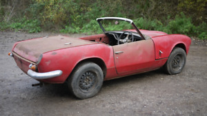 PRE 1969 TRIUMPH SPITFIRE PROJECT WANTED
