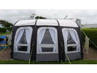 KAMPA ACE AIR 400 AWNING PLUS POLED BEDROOM ANNEX