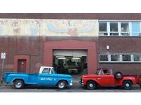 Secure garage / workshop space for rent