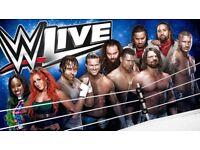 2 WWE Live tickets Glasgow