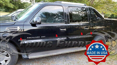 2001-2006 Cadillac Escalade EXT Pickup Cladding Accent Body Side Molding Trim