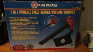 King Canada 3-1 Speed Blower