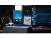 Hidizs AP200 DAP High End Music Player - Android 32Gb Blue