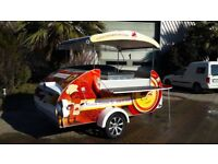Mobile Catering Trailer - Pop Up Shop - Multi Purpose NEW