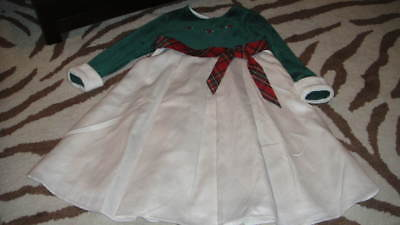BITTY BABY AMERICAN GIRL FOR GIRLS 5 HOLIDAY DRESS EVERGREEN](Holiday Clothes For Girls)