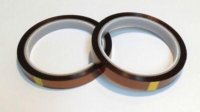 2 High Temp Polyimide Kapton Powder Coating Electric Masking Tape 14 X 36 Yd