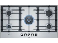 Serie   6 90 cm, hob, Stainless steel PCR9A5B90 Brand new
