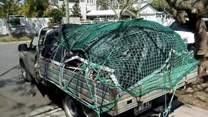 Hire a man with Ute and 7/4 caged trailer