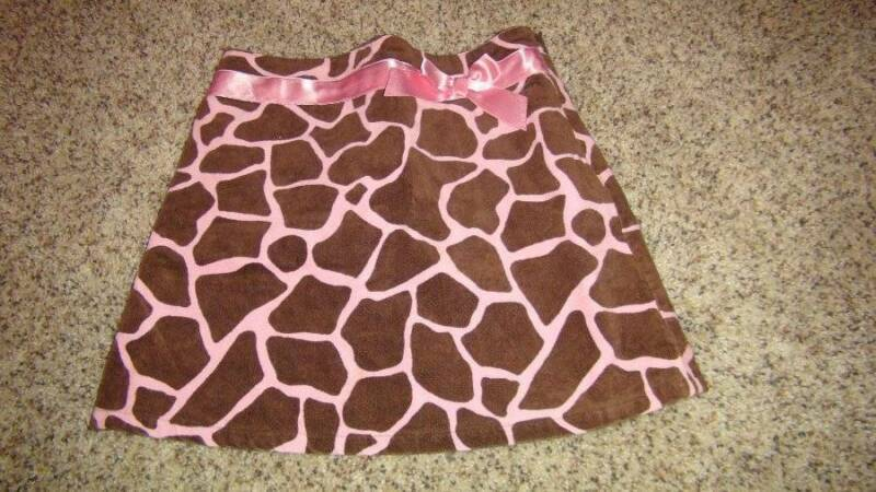 Gymboree size 8 Giraffe Club skirt vintage