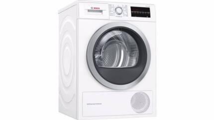 bosch heat pump dryer as new condition