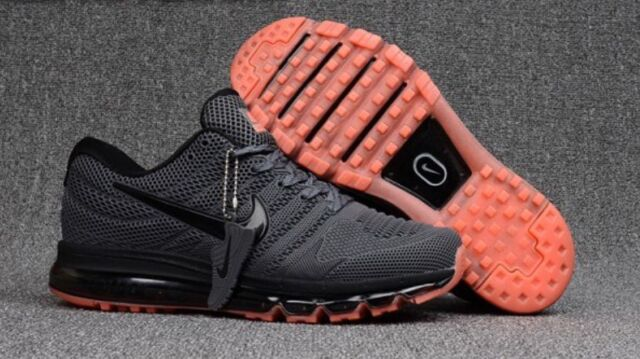 best sneakers 8c1f6 bb83f ... coupon for nike air max 2017 kpu carbon grey red size 9.5 849559 004 mens  shoes