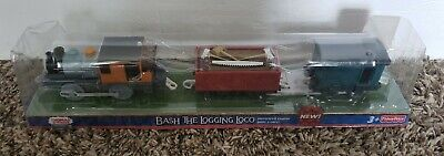 HTF New Thomas and Friends Trackmaster Bash the Train Set Electric Christmas Fun