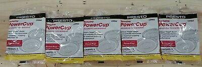 5 packs  Microwave Powerpop 09964 Powercup Popcorn Concentrator Presto