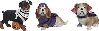 Halloween Costume Puppy Dogs Set of 3 Bulldog Rottweiler So cute New