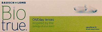 Kontaktlinsen 1x30er Box Bio true one day lenses + 5 Bonuslinsen gratis!