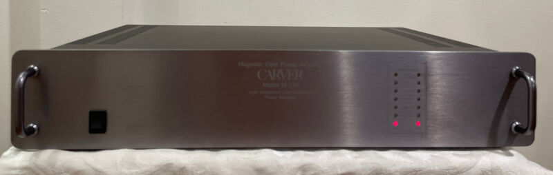 CARVER M-1.0t 2 CHANNEL MAGNETIC FIELD POWER AMPLIFIER
