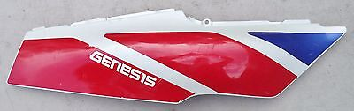 '93 FZR600 FZR 600 RIGHT REAR TAIL FAIRING PLASTIC COVER COWL RED BLUE YAMAHA