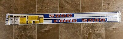 Ford 5000d Tractor Decal Kit Years 1968-1975 Complete 5000 Ford Diesel Dkfd5000d