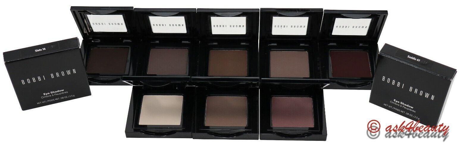 Bobbi Brown Eye shadow Choose Shade .08oz/2.5g New In Box