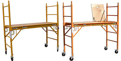 2 Mfs Scaffold Rolling Towers With U Lock 1 Hatch Deck Cbm Scaffold