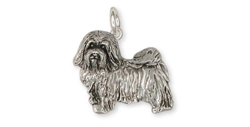 Havanese Charm Handmade Sterling Silver Dog Jewelry HV6-C