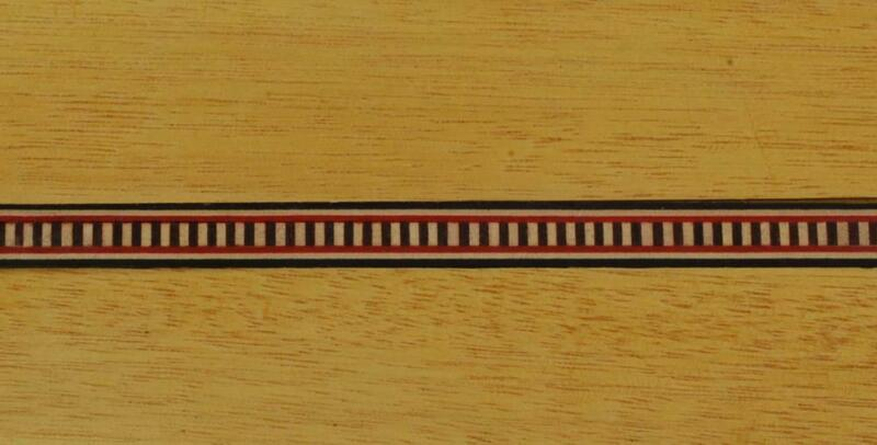Lot of Five Ultra-fine Dental Marquetry Banding Strips (Inlay-232)