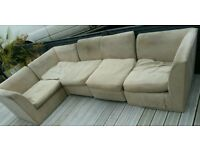 Corner sofa free delivery